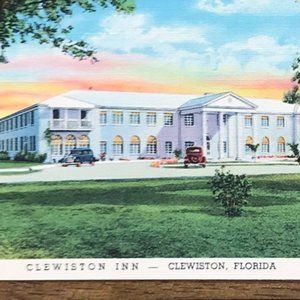 Vintage Wall Art - Vintage Florida Souvenir Linen Travel Postcard